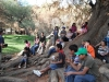 4-5-bible-study-on-a-tree-trunk-after-the-scavenger-hunt