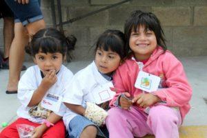 3 little children